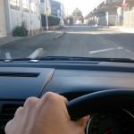 車両感覚をサーポートするシートをつくってみました!